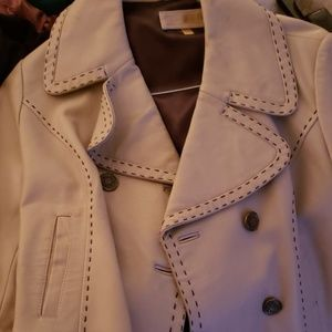 Wilson leather waist jacket